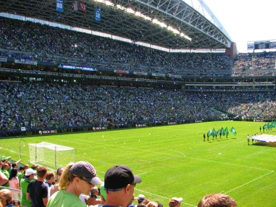 seattle sounders crowd