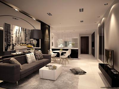 Thiết kế căn hộ chung cư Central Point Trung Kính