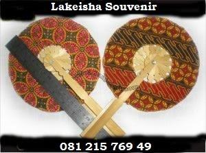 souvenir kipas motif batik
