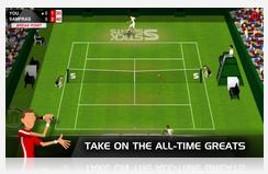 تحميل لعبة التنس الممتعة والواقعية لهواتف وأنظمة بلاك بيرى مجاناً Stick Tennis-1.6.2.2