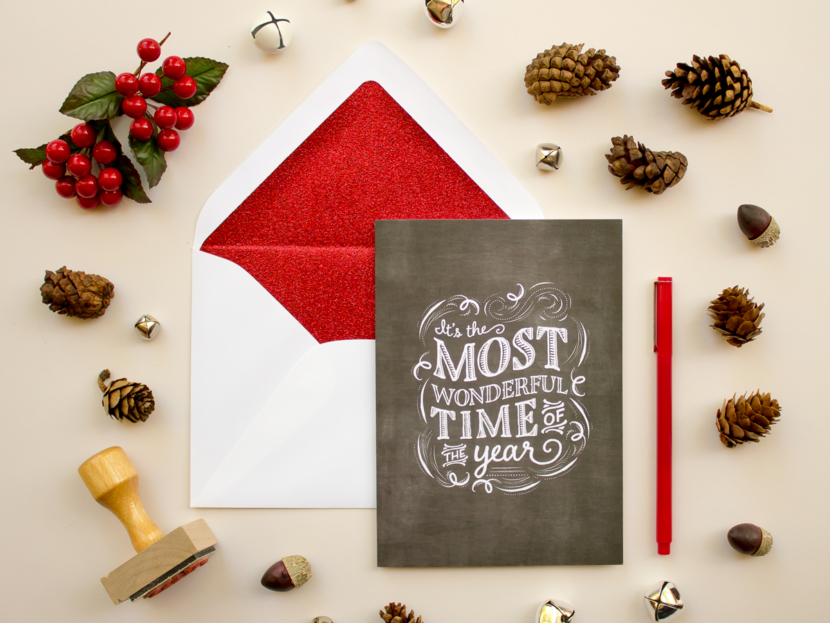 https://www.etsy.com/listing/207390752/chalkboard-greeting-card-with-glitter