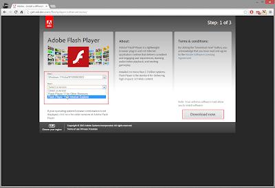 Правильная установка Adobe Flash Player