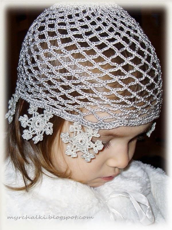 костюм снежинки шапочка