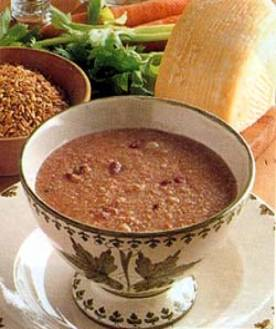 procedure text how to make zuppa soup