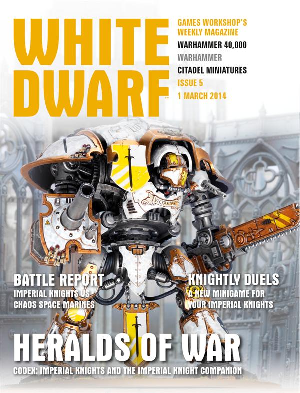 White Dwarf Weekly número 5 de marzo