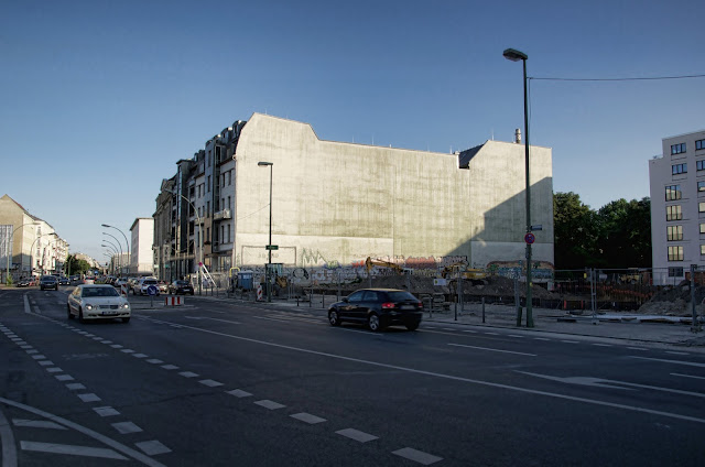 Baustelle Merika Hotel Berlin, Chausseestraße 92, 10115 Berlin, 07.07.2013