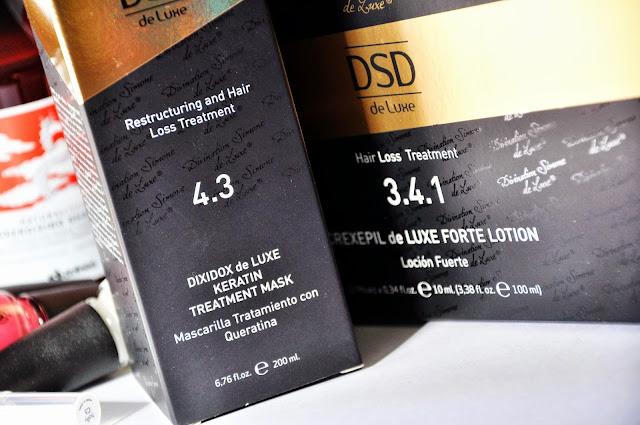маска и ампулы от выпадения волос DSD de Luxe