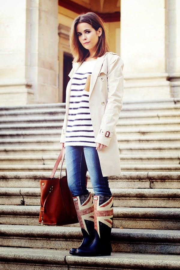 Types of shoes: Wellingtons - Tipos de zapatos: Botas de lluvia