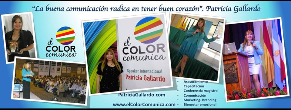El Color Comunica. Patricia Gallardo