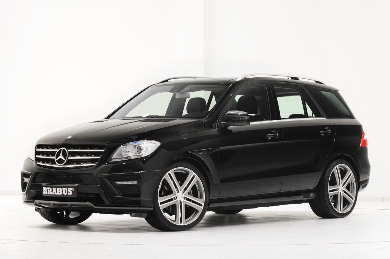 2012 mercedes benz m class by brabus car tuning styling for Mercedes benz m class mercedes suv