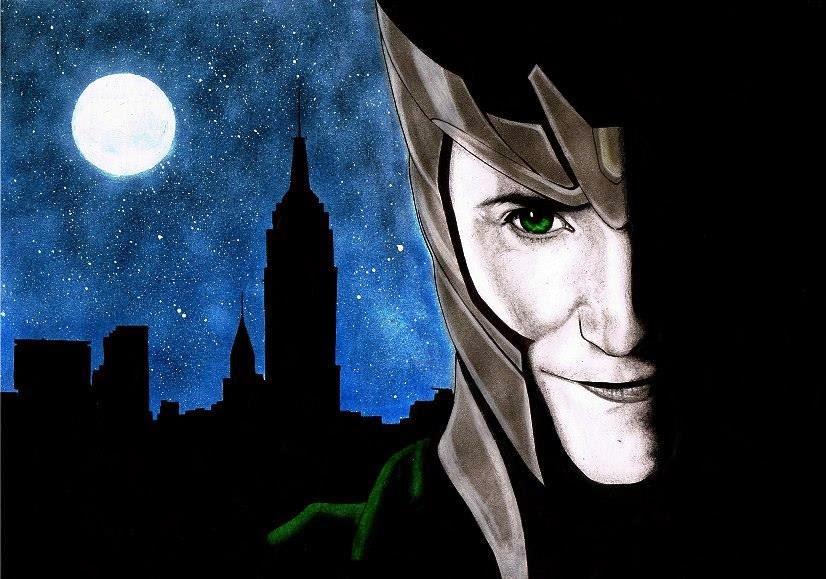 """""""Loki"""" Pintado por Raquel Huber Arroyo"""
