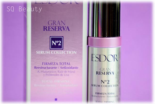 Gran Reserva de Esdor tres serum para tres problemas Silvia Quiros SQ Beauty