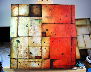 andy skinner abstract canvas decoart acrylic paint