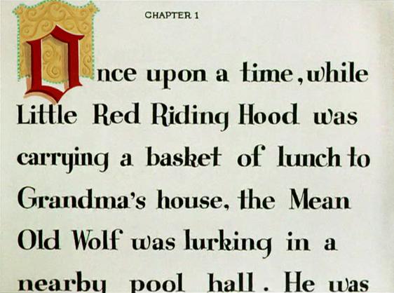 Likely Looney Mostly Merrie 183 Little Red Walking Hood 1937