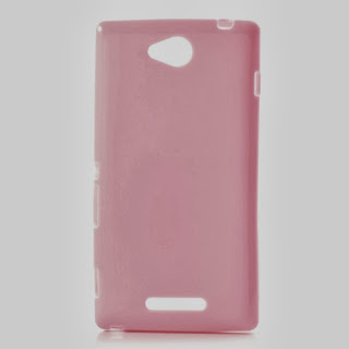TPU Jelly Case Sony Xperia C C2305 S39h - Pink