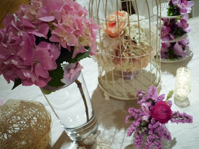 wedding decoration by Lily Sarah - Four Seasons Hong Kong