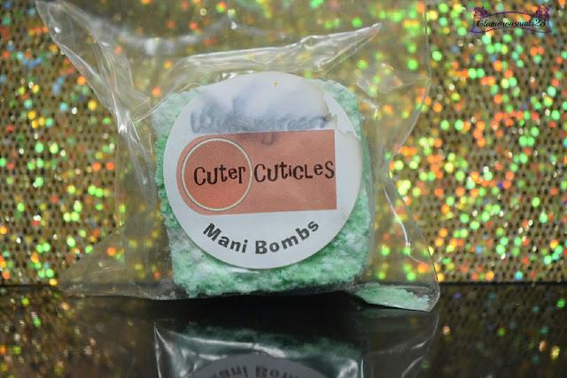 Cuter Cuticles Wintergreen Mani Bomb