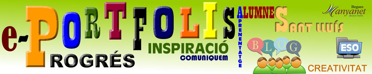 Portfolis Digitals alumnes ESO Col·legi Sant Lluís