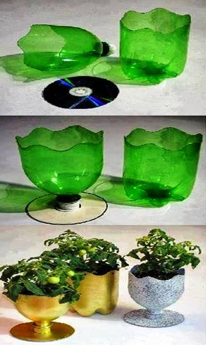 Home decor simple and beautiful ways to recycle plastic for Home decor using plastic bottles