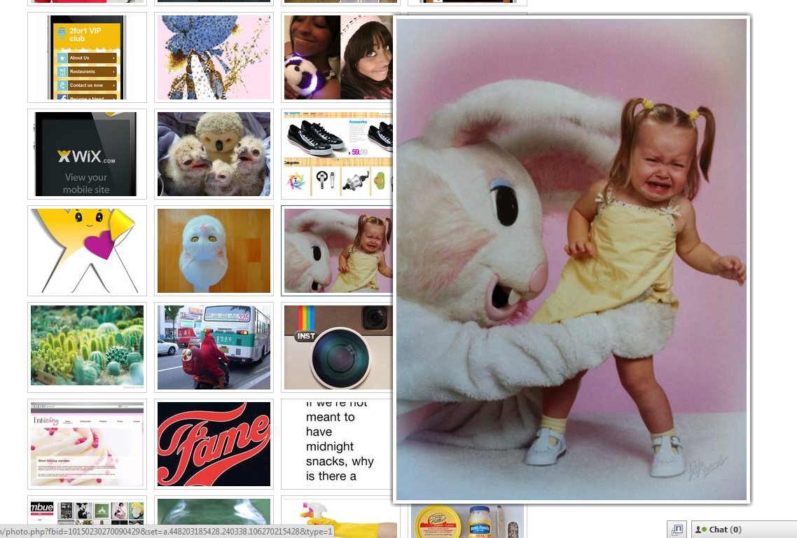 Enlarge Facebook Photos By Hover Mouse Pointer (Firefox Chrome Plugin)