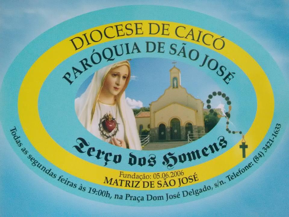 Terço dos Homens da Paróquia de São José de Caicó/RN