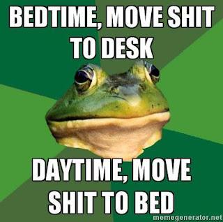 foul bachelor frog bedtime daytime
