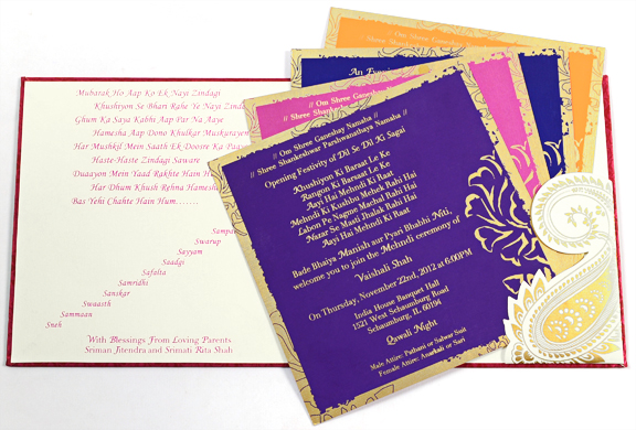 Indian Wedding Card Indian Wedding Cards Changes Since Olden Times