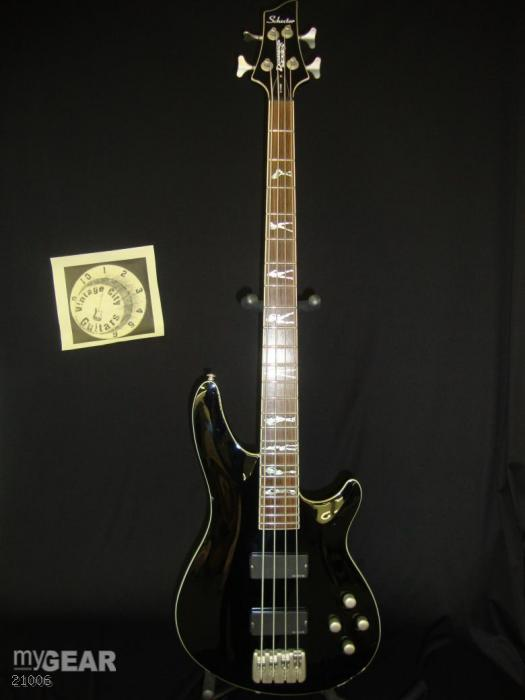 Schecter C-4 XXX limited edition bass