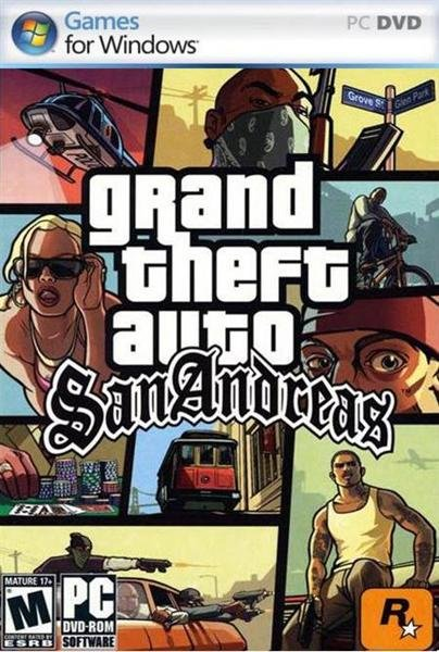 Download Game GTA San Andreas Full RIP For PC