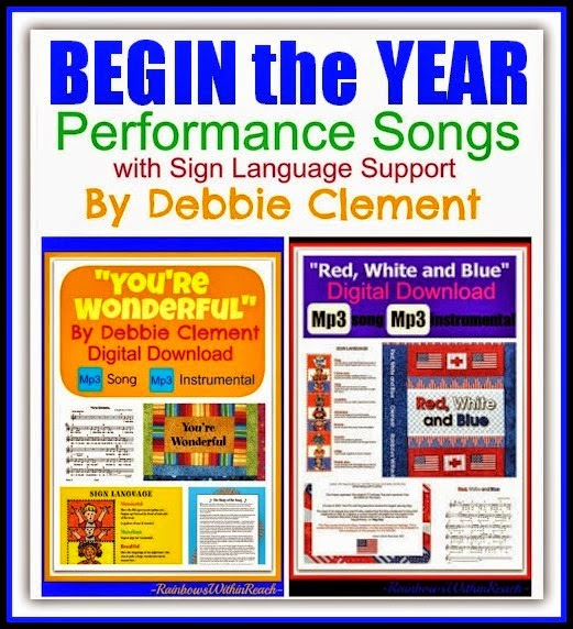 Begin the Year Performance Songs by Debbie Clement