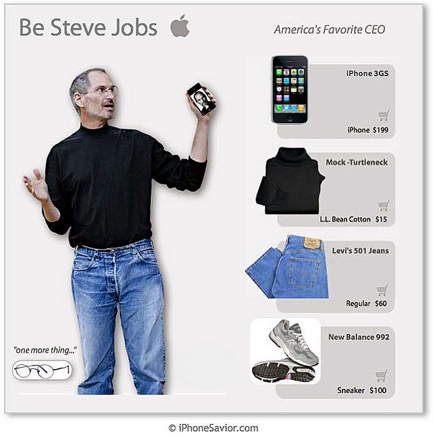 bindigasm rip steve jobs the geek fashion icon