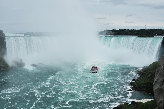 Hornblower Niagara Cruise near to the Horseshoe Falls
