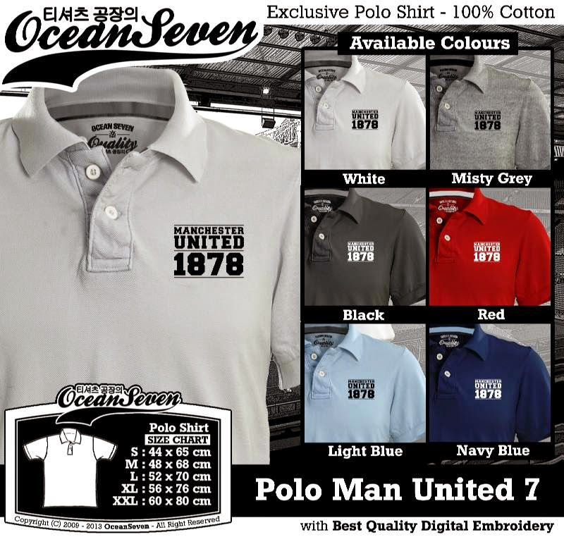 Kaos Polo Man United 7