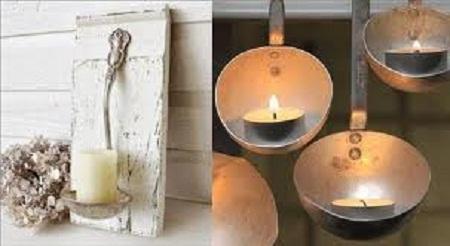 Ideas para reciclar cucharones decoraci n for Objetos decorativos minimalistas