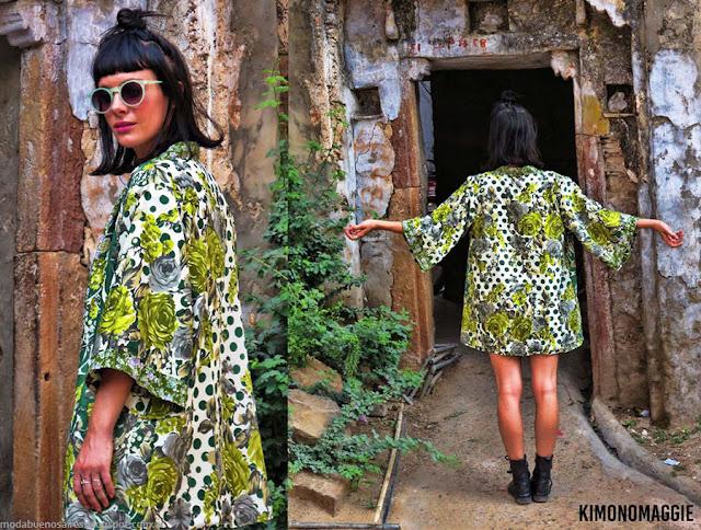 Moda primavera verano 2016 kimonos marca Joderr. Ropa de moda 2016.