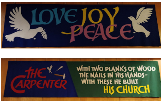 New Church Room Banners