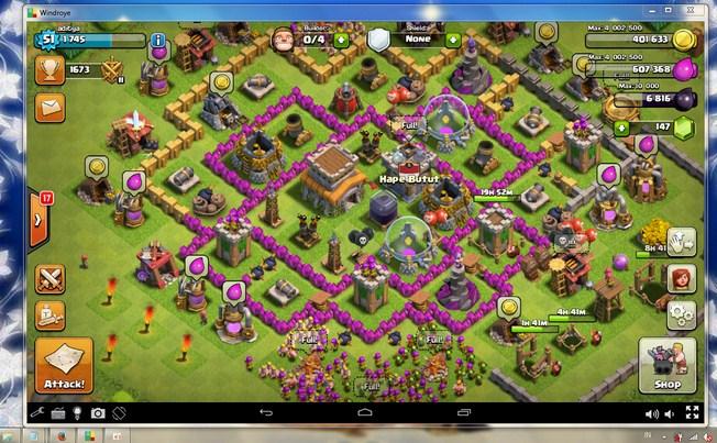 Cara Main Clash of Clans Di PC