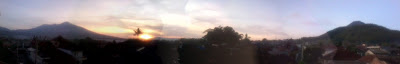 Batu City Sunrise