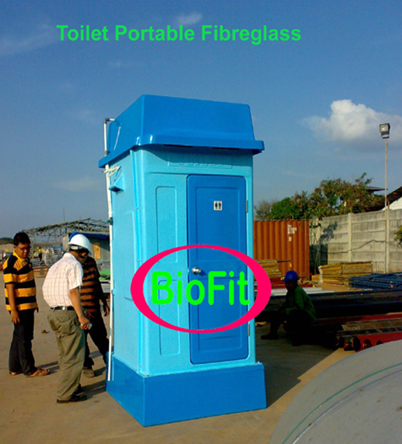 Portable Toilet Exhibition : Septic tank biotech mandiri
