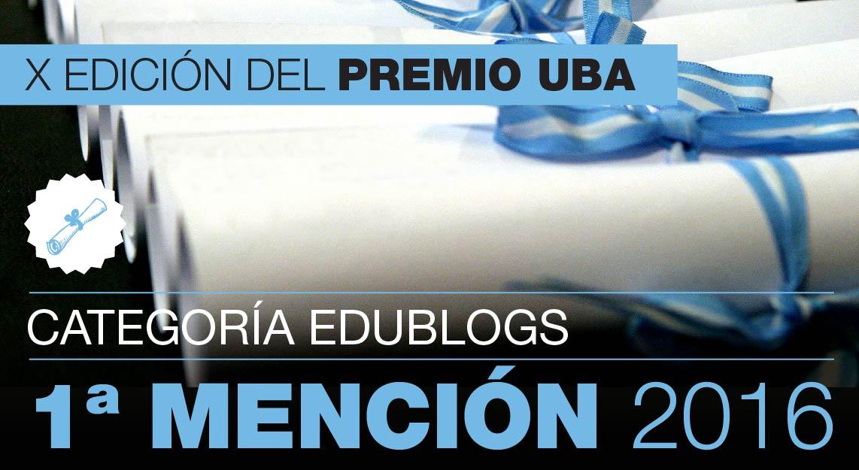 Blog ganador Premio UBA 2016