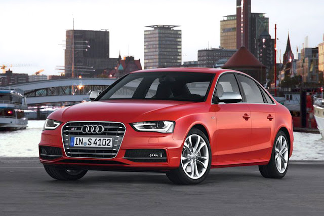 2013 Audi S4 Saloon Red Exterior