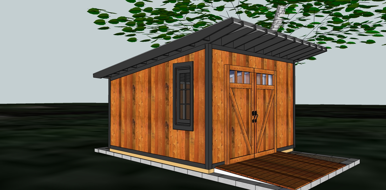Fabitecture Modern Shed Design And Finishing Room