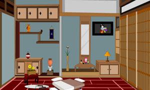 Jap Living Room Escape