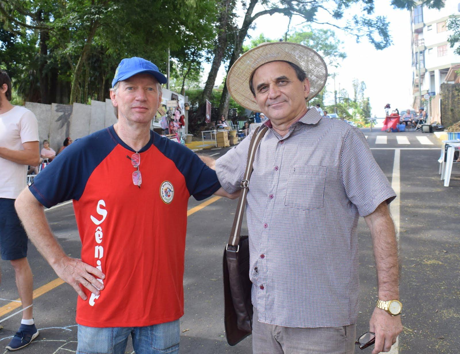 Airton Engster dos Santos e Andreas Hamester