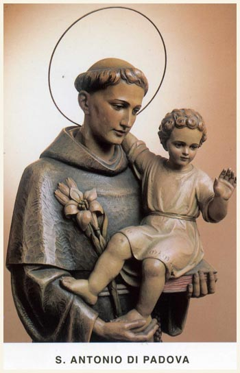 JUNE 13 - ST ANTHONY OF PADUA - SANT ANTNIN TA' PADOVA