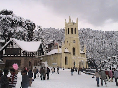 Anglican christ church in Himachal province
