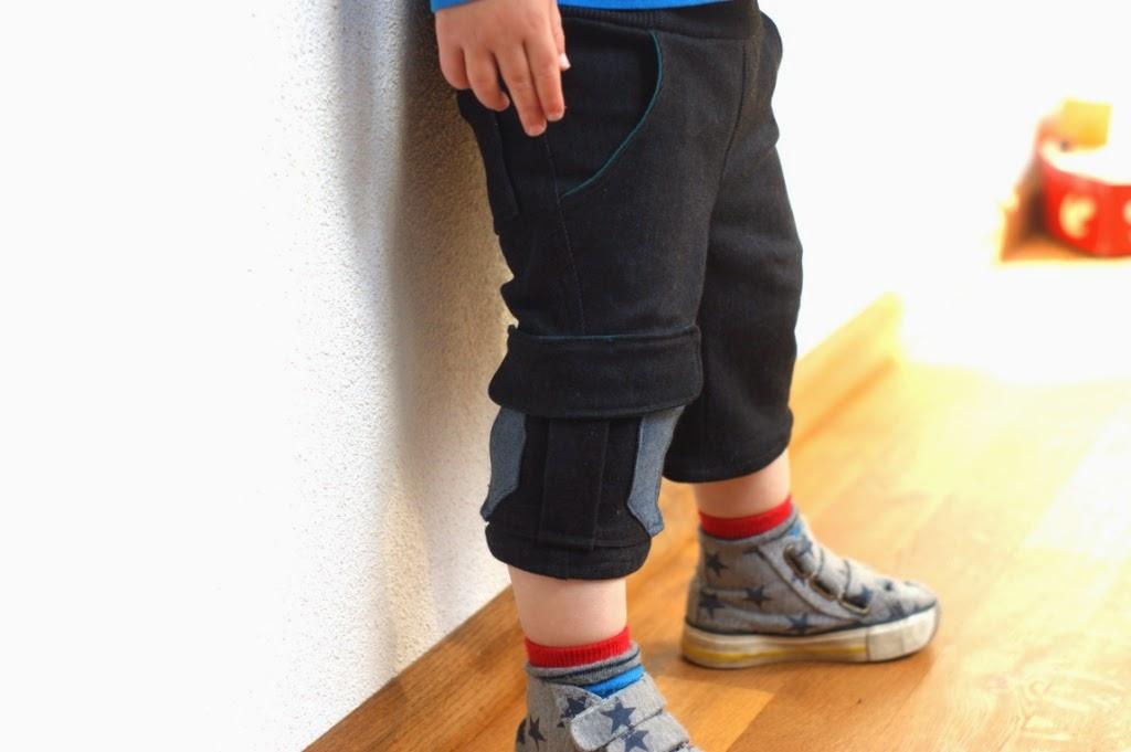 Kudzu cargo shorts (pattern Willow & Co)