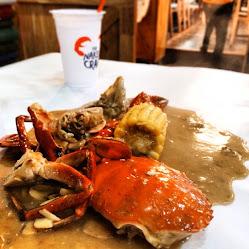 Blue Crab naked signature sauce