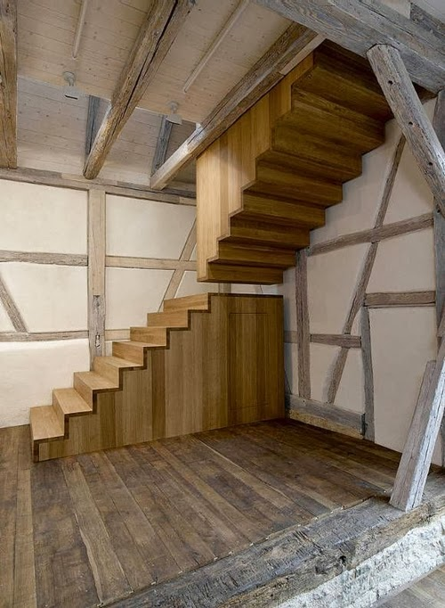 30 wooden types of stairs for modern homes architecture - Imagenes de escaleras de madera ...