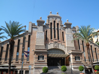 Mercado / Market building in Alicante, Spain